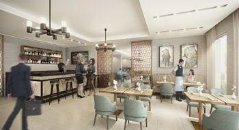 conceptualising movement through restaurant