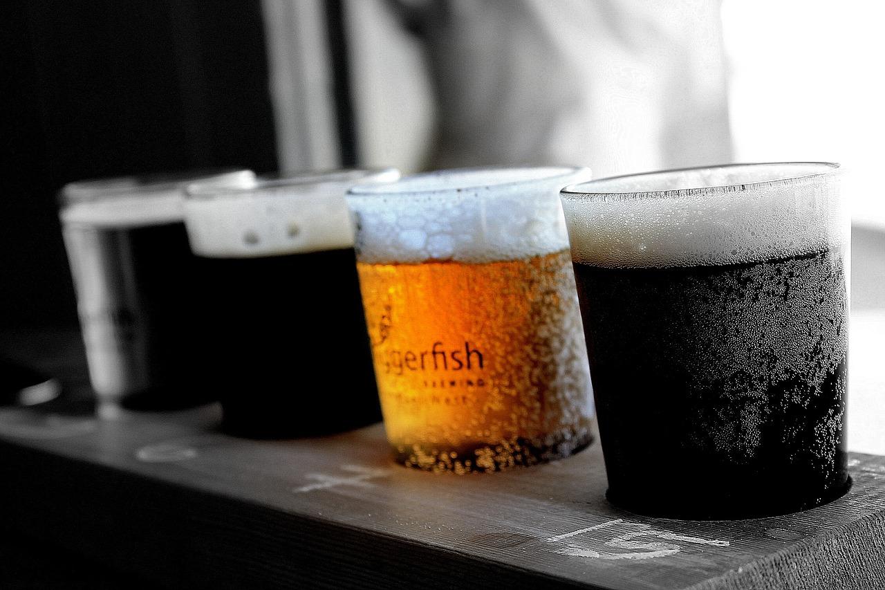 Beer Tasting At Pub
