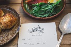 classy-food-menu-on-rustic-table